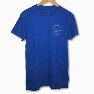 Quiksilver Blue Short Sleeve T-Shirt Men's Medium